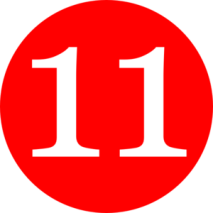 red-rounded-with-number-11-md